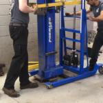 2 post lift service portable lift for equipment service automotive lifts tire changers MPL lift MPL1000